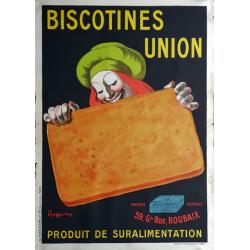 Original vintage poster Biscotines Union - Leonetto Cappiello