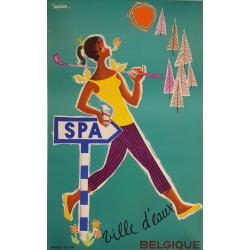 Original vintage poster Spa...