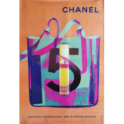 Affiche originale Chanel no...