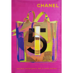 Original poster Chanel no 5...