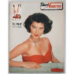 Original vintage Magazine Stars & Vedettes downhill follie Pierre Laurent BRENOT