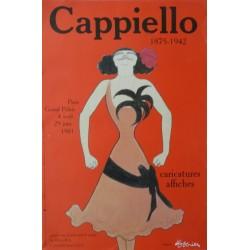 Original vintage poster pour une exposition à PARIS au grand palais en 1981 d'après Leonetto CAPPIELLO