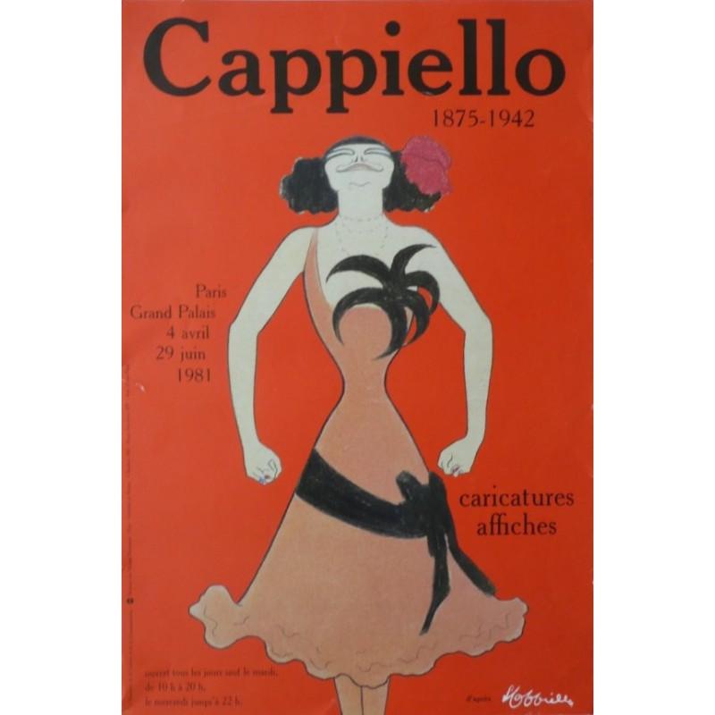 Affiche originale pour une exposition à PARIS au grand palais en 1981 d'après Leonetto CAPPIELLO