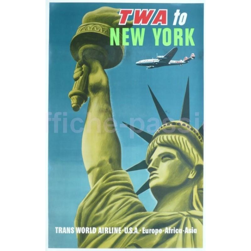 original vintage poster new york Stores Pharmacies