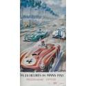 Programme ancien original officiel 24 heures du mans 1955 couverture GEO HAM