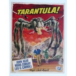 """Affiche originale cinéma belge scifi science fiction """" Tarantula """" Universal"""