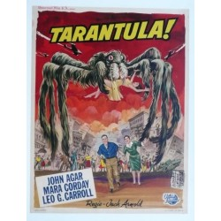 "Original vintage poster cinema belgium scifi science fiction "" Tarantula "" Universal"