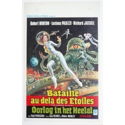 "Original vintage poster cinema belgium scifi science fiction "" Bataille au delà des étoiles """