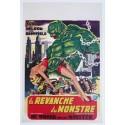 """Original vintage poster cinema belgium scifi science fiction """" La revanche du monstre """" Universal"""