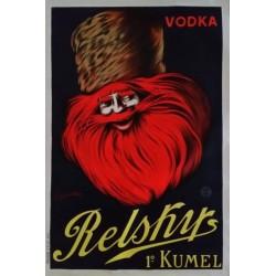 Affiche originale Vodka Relsky - Leonetto Cappiello