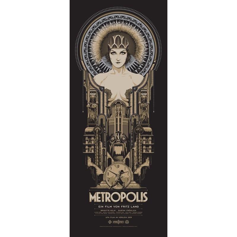 Affiche originale édition limitée variant Metropolis - Ken TAYLOR - Galerie Mondo