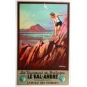 Original vintage poster chemin de Fer de l'Etat - Les Vacances en Bretagne le Val-André - André GALLAND