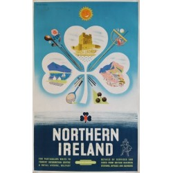 Affiche originale Northern Ireland 1956 - Daphne PADDEN