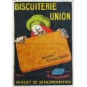 Affiche ancienne originale Biscuiterie Union - Leonetto Cappiello