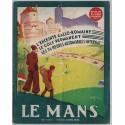 Revue des usagers de la route Mai 1935 Couverture Le Golf du Mans - André GALLAND