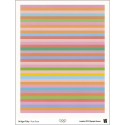 Affiche originale Jeux olympique de Londres 2012 - Bridget RILEY