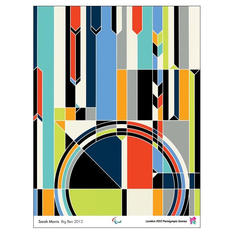 Original poster Paralympic games London 2012 Big Ben - Sarah MORRIS