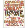 Affiche originale Jeux Paralympique de Londres 2012 Love - Bob and Roberta SMITH