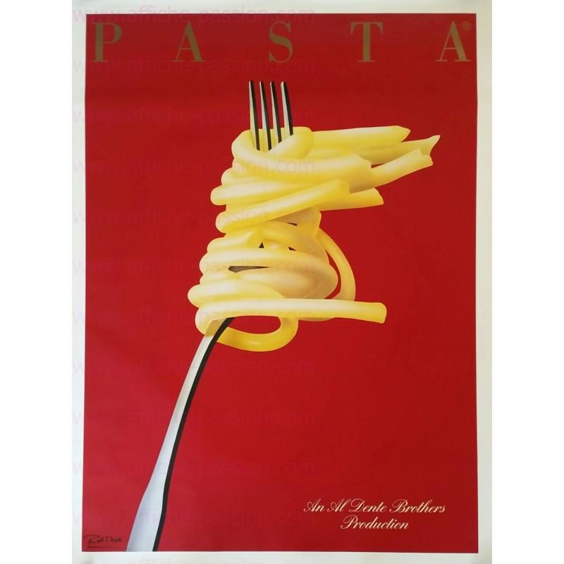 Original vintage poster PASTA 1983 Razzia