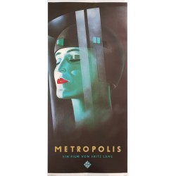 Poster Metropolis Fritz Lang artwork Werner Graul Edition Peter Gruber