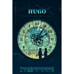 Original silkscreened poster limited edition Hugo Kevin TONG - Galerie Mondo