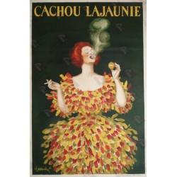 Affiche originale Cachou Lajaunie - Leonetto Cappiello