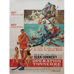 Original vintage poster James Bond Thunderball French