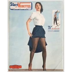 Original magazine Stars & Vedette a glance back Pierre Laurent BRENOT