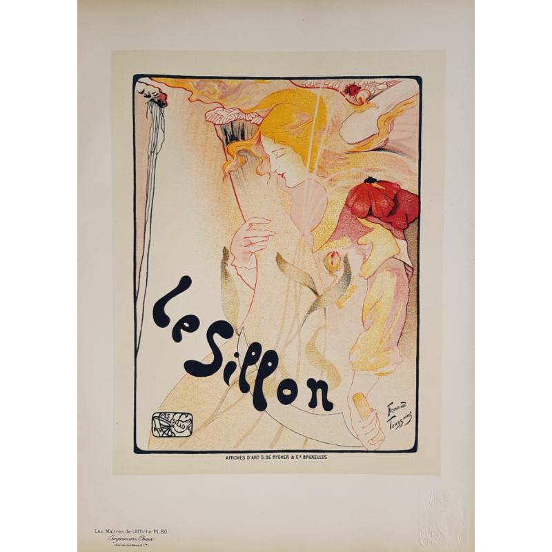 Maîtres de l'Affiche Original PLate 80 Le Sillon Fernand TOUSSAINT