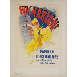 Maîtres de l'Affiche Original PLate 77 Vin Mariani Jules CHERET