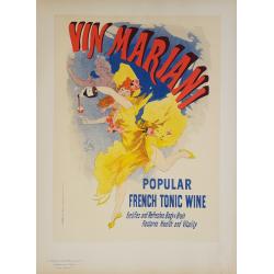 Maîtres de l'Affiche Planche originiale 77 Vin Mariani Jules CHERET