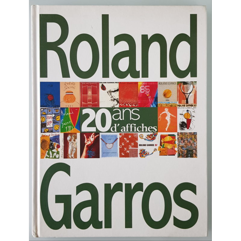 Livre Roland Garros 20 ans d'affiches
