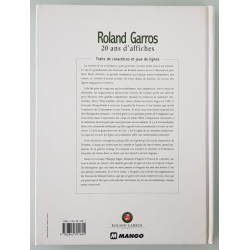 Book Roland Garros 20 years of posters back