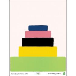Affiche originale Jeux olympique de Londres 2012 CREED Martin