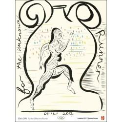 Affiche originale Jeux olympique de Londres 2012 OFILI Chris