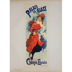 Maîtres de l'Affiche Original PLate 237 Palais de Glace Champs Elysées Jules CHERET