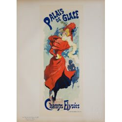 Maîtres de l'Affiche Planche originale 237 Palais de Glace Champs Elysées Jules CHERET