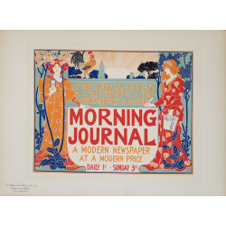 Maîtres de l'Affiche Planche originale 220 Morning Journal a Modern Newspaper