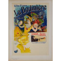 Maîtres de l'Affiche Planche originale 229 La Bodinière Jules CHERET