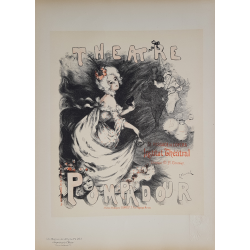 Maîtres de l'Affiche Original PLate 203 Theatre Pompadour