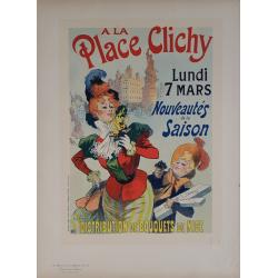 Maîtres de l'Affiche Original PLate 191 A la place Clichy Nouveautés de la saison