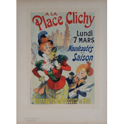 Maîtres de l'Affiche Planche originale 191 A la place Clichy Nouveautés de la saison