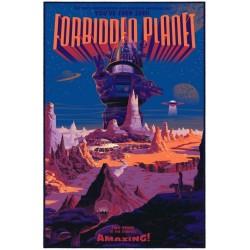 Original silkscreened poster limited variant edition Forbidden Planet - Laurent DURIEUX - Gallery Mondo