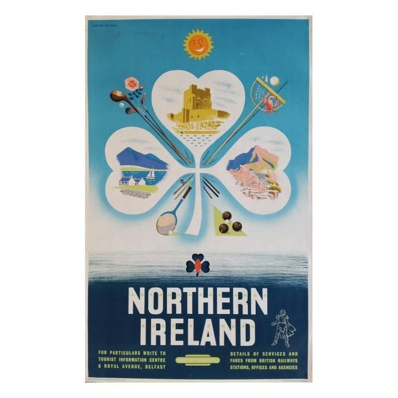 Original vintage poster Northern Ireland 1956 - Daphne PADDEN