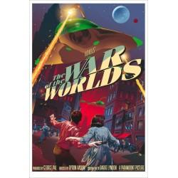 Original silkscreened poster regular limited edition War of the world - Stan & Vince - Galerie Mondo