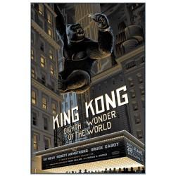 Affiche originale édition limitée King Kong - Laurent DURIEUX - Galerie Mondo