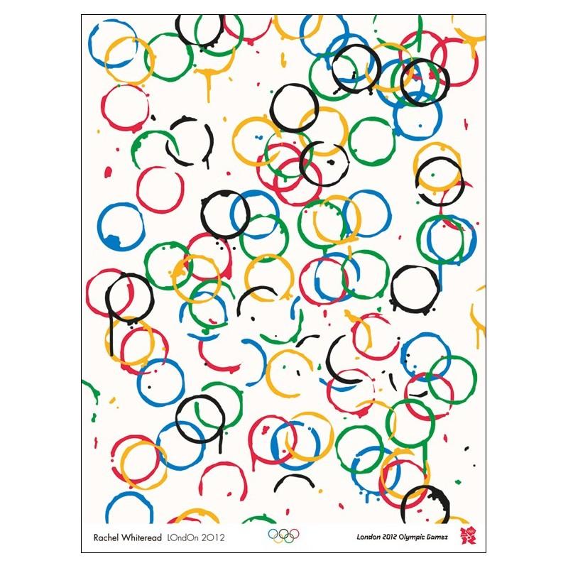 Original poster Olympic games London 2012 - Rachel WHITEREAD