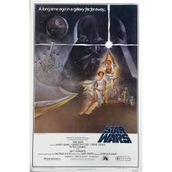 Affiche ancienne originale cinéma Star Wars NSS 77/21 One sheet Style A