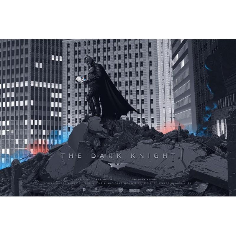 Affiche originale édition limitée variant The Dark Knight - Laurent DURIEUX - Mondo