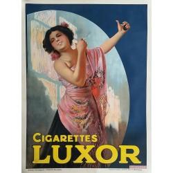 Original vintage poster Cigarettes LUXOR 63 x 47 inches
